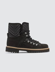 Ganni Winter Hiking Boots Black