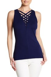 Bailey 44 Strappy Tank Blue
