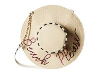 Betsey Johnson Beach Please Crossbody Brown Cross Body Handbags
