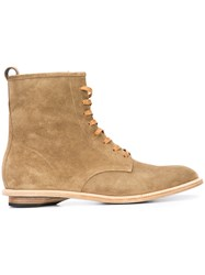 Valas Rebel Boots Men Calf Leather Leather 12 Brown