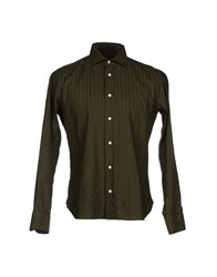 Tonello Shirts Shirts Men Dark Green