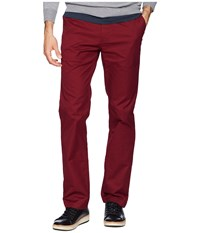 Dc Worker Straight Chino Pants Cabernet Casual Pants Burgundy