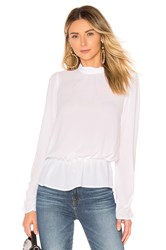 Bcbgeneration Turtleneck Blouse White