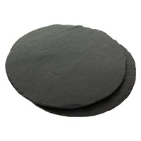 The Just Slate Company Round Placemats Set Of 2