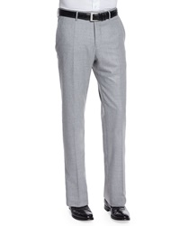 Incotex Super 150S Flannel Trousers Gray