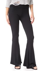 Riller And Fount Topher High Waisted Leggings Black French Terry