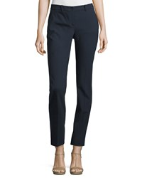 Michael Kors Collection Samantha Skinny Ankle Pants Black Women's Size 6