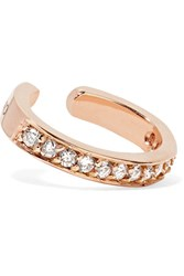 Anita Ko 18 Karat Rose Gold Diamond Ear Cuff