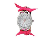 Betsey Johnson Bj00131 77 Bow Print Silver Watches