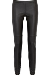 Michael Michael Kors Faux Leather Leggings Black