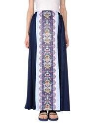 Mary Katrantzou Adidas X Long Skirts Dark Blue