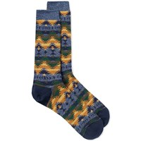 Anonymous Ism Wigwam Jacquard Crew Sock Multi