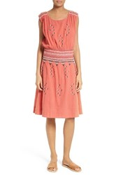 The Great Women's Great. Deco Embroidered Dress