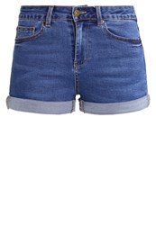 Evenandodd Denim Shorts Blue Denim Stone Blue Denim