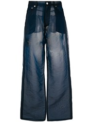 Our Legacy Sheer Wide Leg Trousers 60