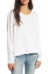 Women's Bp. Side Slit Tee White