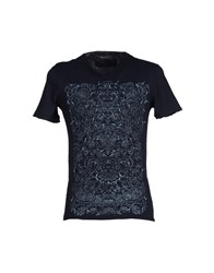 Ermanno Ermanno Scervino Topwear T Shirts Men Dark Blue