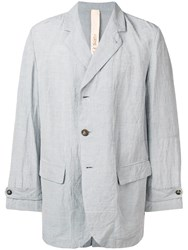 Forme D'expression Classic Oversized Blazer Grey