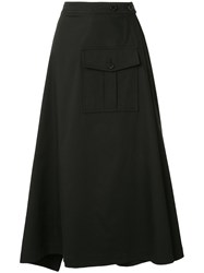 Goen.J Flared Midi Skirt 60