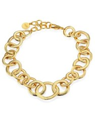Nest Short Chain Necklace Gold