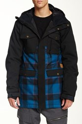 Quiksilver Reply Snow Jacket Blue