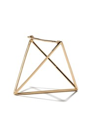Shihara 18Kt Yellow Gold 3D 30Mm Triangle Earring Unavailable