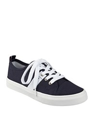 Tommy Hilfiger Lanie2 Signature Striped Sneakers Navy Blue