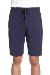 Naked 'Luxury' Stretch Lounge Shorts Blue