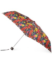 Totes Titan Holiday Gift Mini Umbrella Recast Floral
