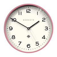 Newgate Number Three Echo Wall Clock Pink