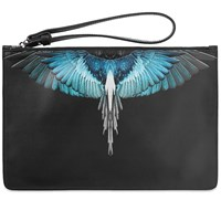 Marcelo Burlon Wings Document Case Black