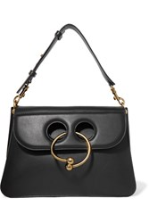 J.W.Anderson Pierce Medium Leather Shoulder Bag Black