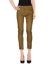 Cycle Casual Pants Military Green
