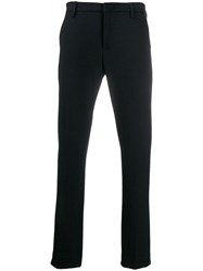 Dondup Straight Leg Trousers Blue
