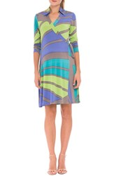 Women's Olian 'Trisha' Matnernity Wrap Dress