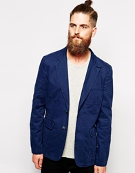 Dockers Alpha Khaki Blazer Slim Fit Unlined Officerblue
