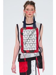 Jamie Wei Huang Sarnai Vest With Mask Red