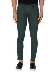 Henry Smith Casual Pants Deep Jade