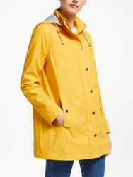 John Lewis Collection Weekend By Hooded Raincoat Yellow
