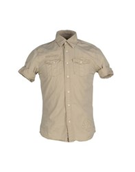 Scotch And Soda Shirts Shirts Men Beige