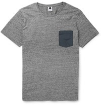 Nn.07 Todd Slim Fit Cotton Jersey T Shirt Gray