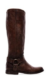 Frye Phillip Harness Tall Cognac