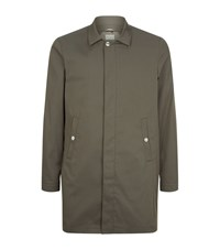 Brunello Cucinelli Lightweight Car Coat Male Khaki