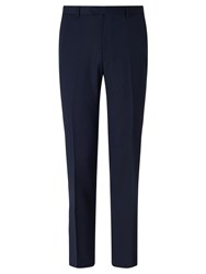 Daniel Hechter Textured Tailored Fit Suit Trousers Navy