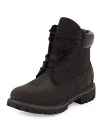 Timberland 6 Premium Waterproof Hiking Boot Black
