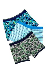 Bottoms Out Palm Brief Pack Of 3 Multi