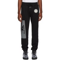 Filling Pieces Black Graphic Lounge Pants