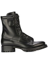 Dsquared2 Zip Detail Boots Black