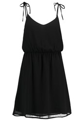 Evenandodd Summer Dress Black