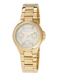 Michael Michael Kors 33Mm Camille Chronograph Bracelet Watch Gold
